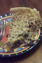 Grandma Badertscher's Raisin Nut Pie
