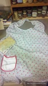 Grandma Vera's flour sack apron