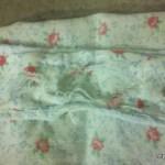 A worn out apron strap