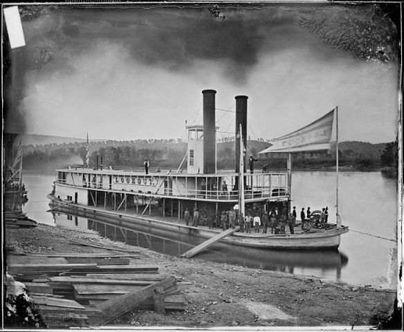 A boat probably similar to one Erasmus rode December Memphis