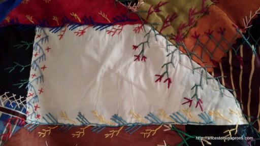 Emeline Stout's crazy quilt