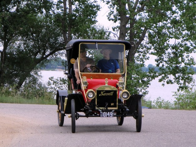 Antique car Maxwell runabout