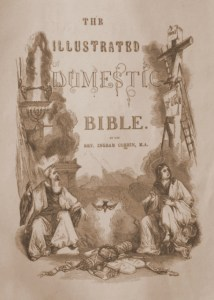 Family Bible Title Page