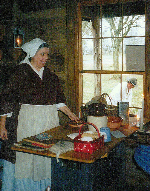 Colonial Cook. Photo by Buck at Flickr.