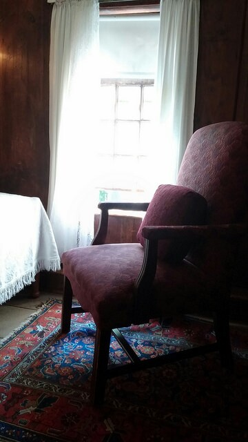 Jerusha's ghost chair