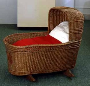 Peregrine White cradle