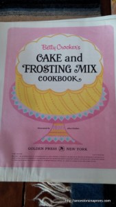 Betty Crocker Cake Book
