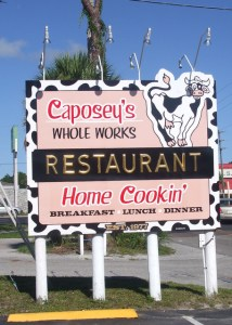 Caposey's Sign