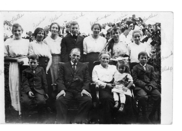 Fred and Ida Stucky family