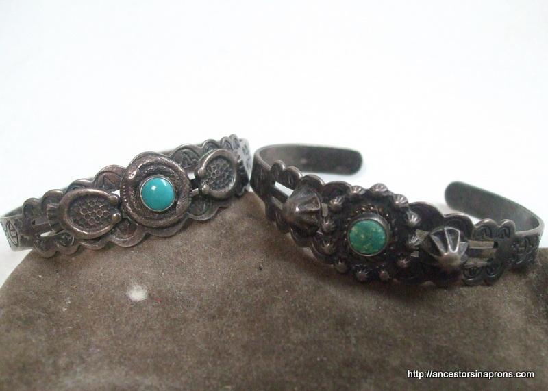 Indian bracelets Circa 1945