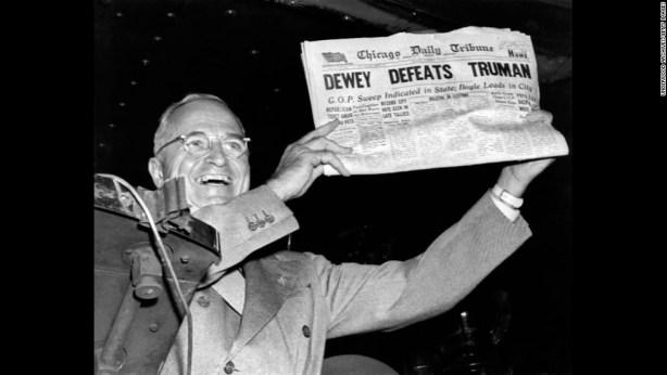 Harry Truman - Thomas Dewey