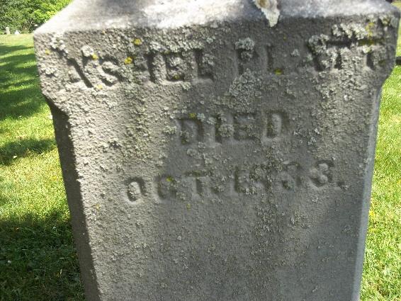 Ashel Platt Killbuck cemetery by Debe Clark