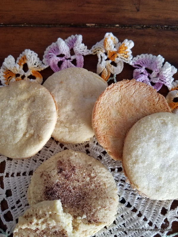 Mrs. Beeton's rice cakes