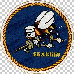 Seabees emblem.