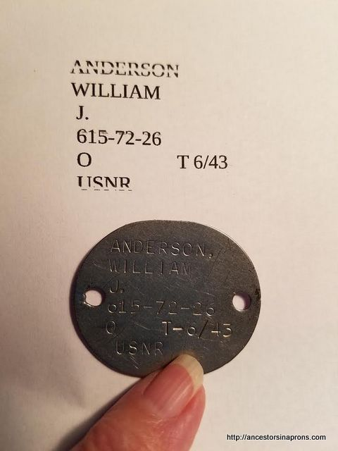 WWII Dog Tag
