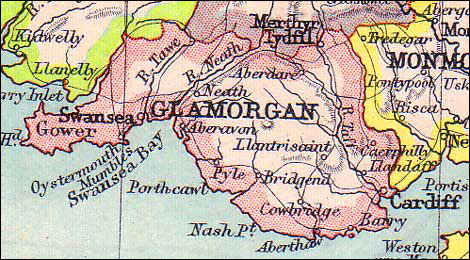 Wales - James Morgan's homeland