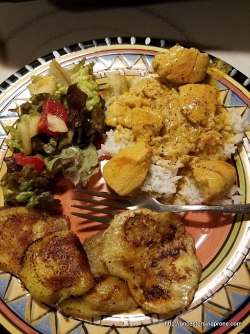 Butter Chicken meal