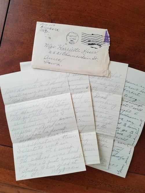 Family letter 1943