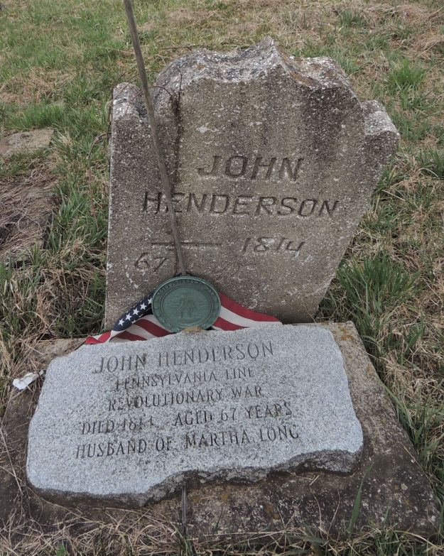 John Henderson Tombstone