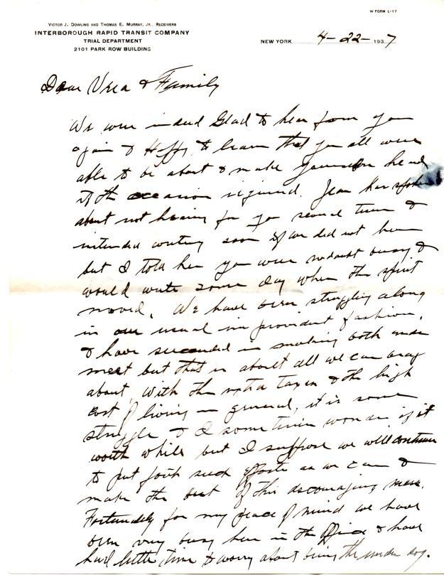 family letter