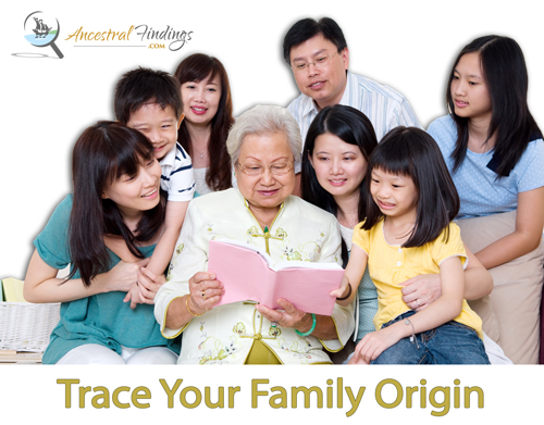 Tracing Your Family Origins