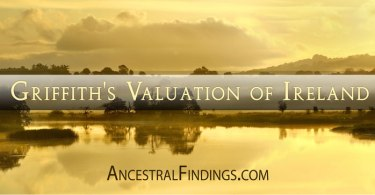 Griffith's Valuation of Ireland