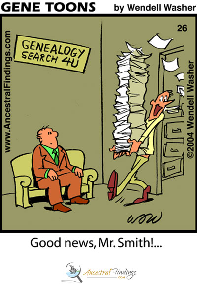 Good news, Mr. Smith! ... (Genetoon #26)