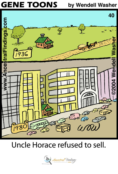Uncle Horace Refused to Sell