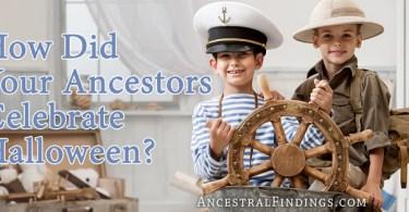 How Did Your Ancestors Celebrate Halloween?