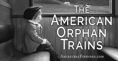 The American Orphan Trains