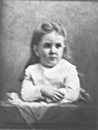 The portrait of Katie that hung on the wall of the McKinley house. (Wikipedia)