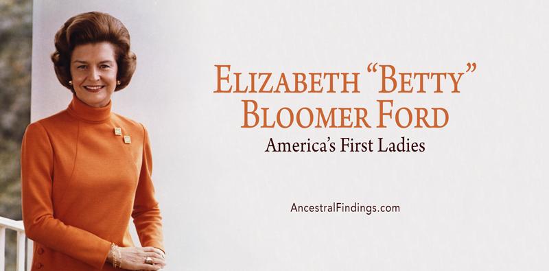 "America's First Ladies, #37 — Elizabeth ""Betty"" Bloomer Ford"