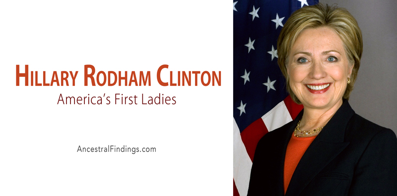 America's First Ladies, #42: Hillary Rodham Clinton