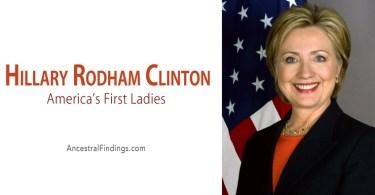 America's First Ladies, #42: Hillary Rodham Clinton