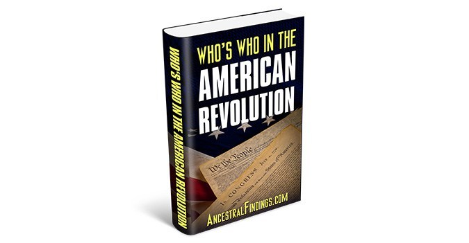 Who's Who in the American Revolution (Free eBook)