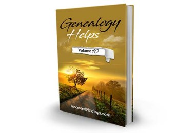 Genealogy Helps #10
