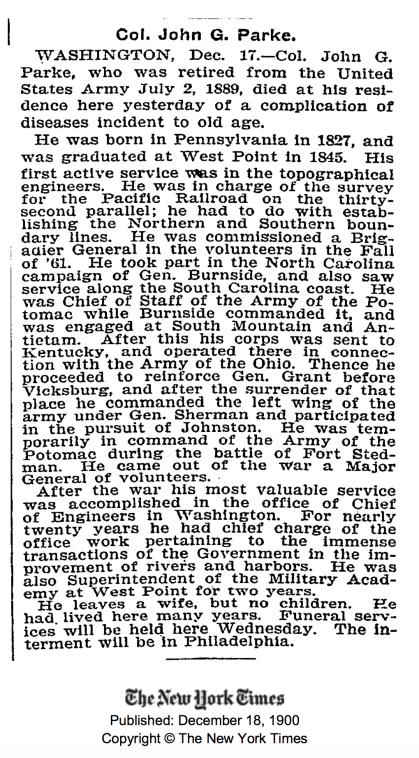 The New York Times. 1900-12-18. Retrieved 2009-04-20.