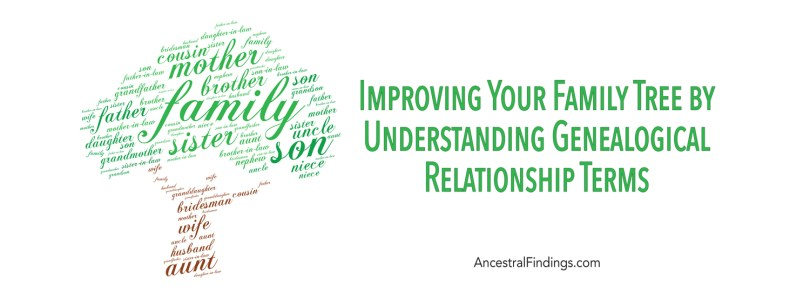 Improving Your Family Tree by Understanding Genealogical Relationship Terms