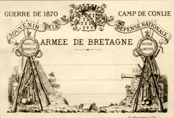 The claimed first printed picture postcard.