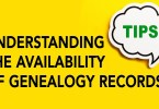 Understanding the Availability of Genealogy Records