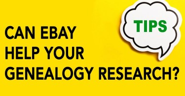 Can eBay Help Your Genealogy Research?