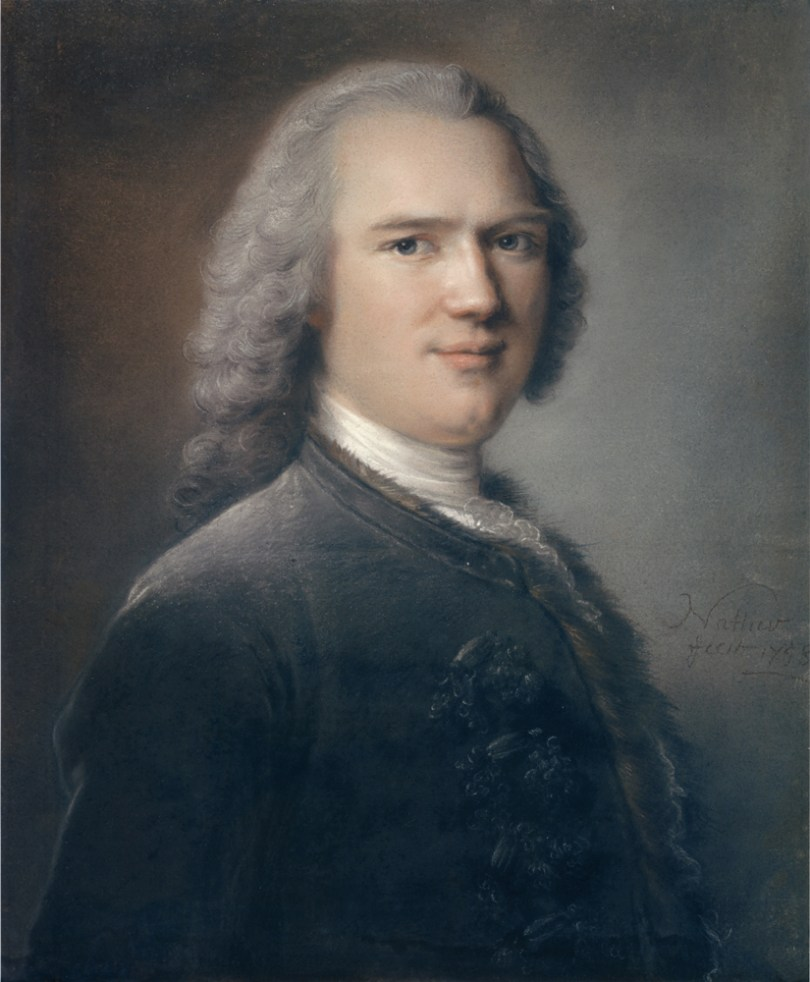 The portrait of Jean-Baptiste Bénard de la Harpe
