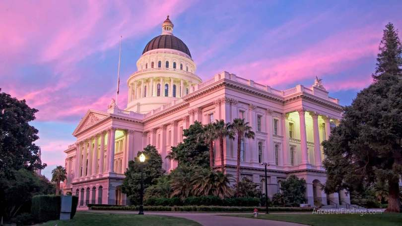 The State Capitals: California