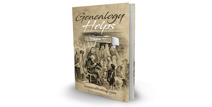 Genealogy Helps #11