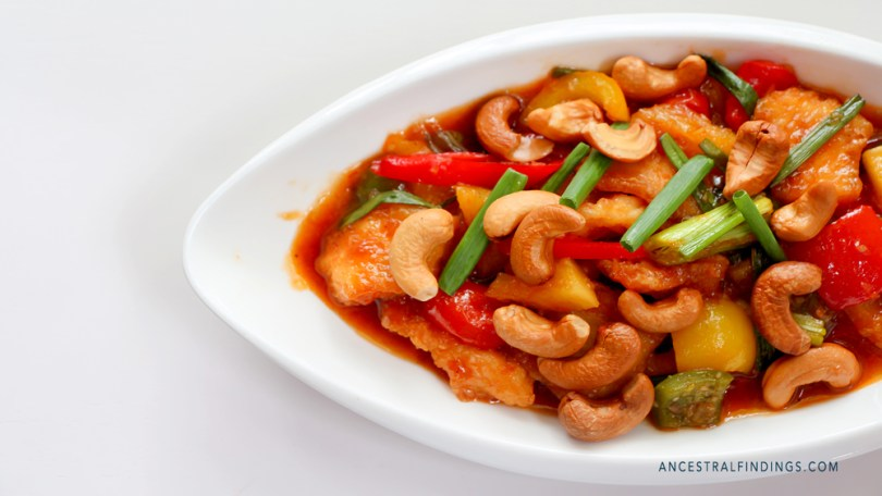 Variations of the Dish: Cashew Chicken