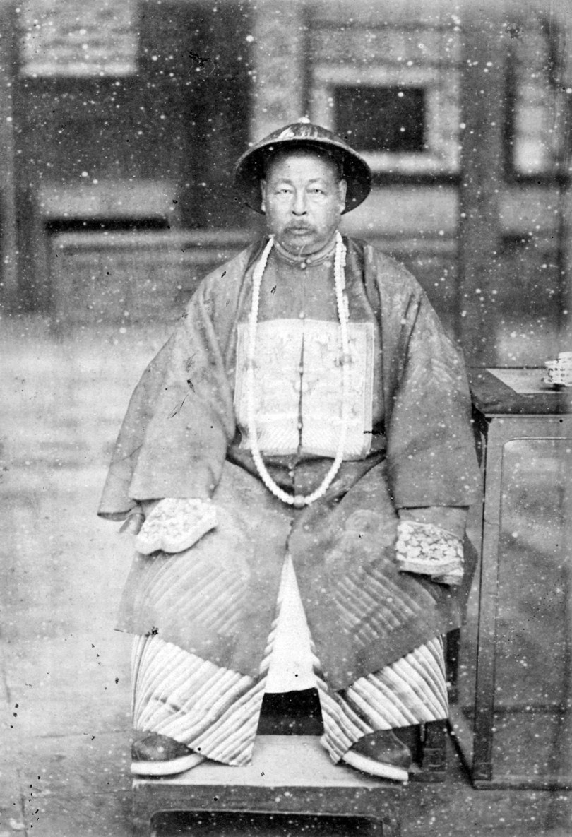 Photograph of Zuo Zongtang, late 19th centur.