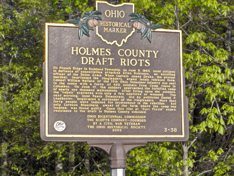 Holmes County Draft Riots