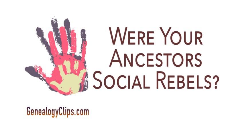 Were Your Puritan Ancestors Social Rebels?