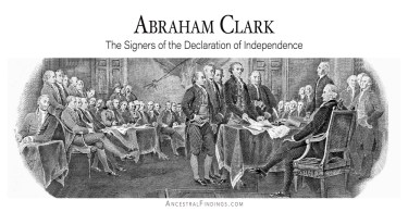Abraham Clark: Signers of the Declaration of Independence