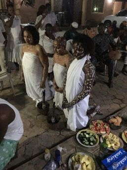 Egbe (Heavenly Mate) Initiation